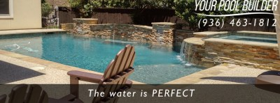 Pool Builders Near Willis TX | Inground Pools around Lake Conroe Texas