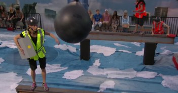 Becky, John, Steve and Jackie compete in the first BOB competition on BB17