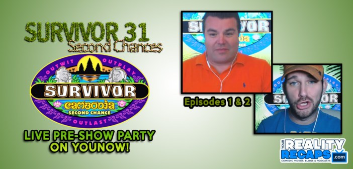 Survivor 31: Cambodia Episode 1&2 PreShow Party!