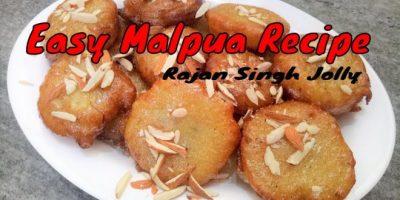 Easy Malpua Recipe | Mawa Malpua Recipe | How To Make Malpua | Dessert Recipes| Holi Special ...