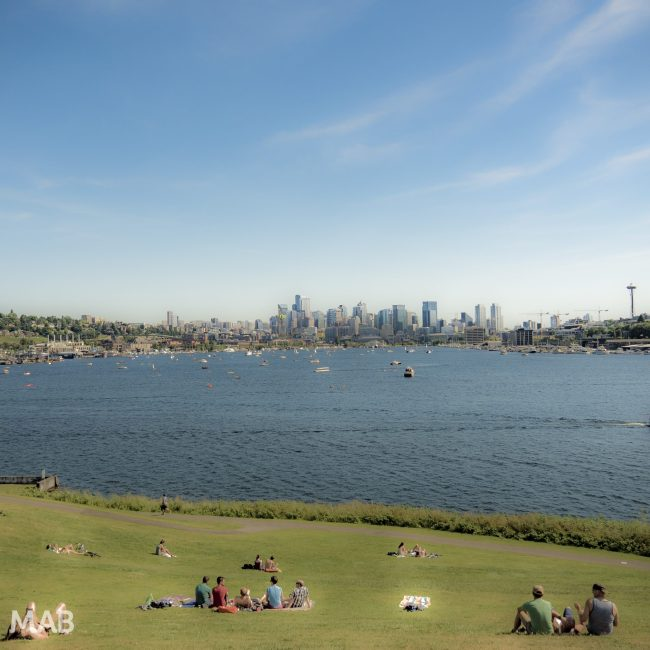 Gasworks Park to Lake Union