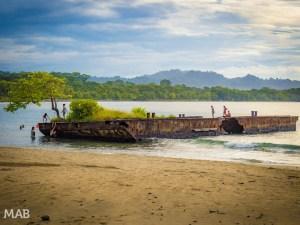 Abandoned Barge Puerto Viejo