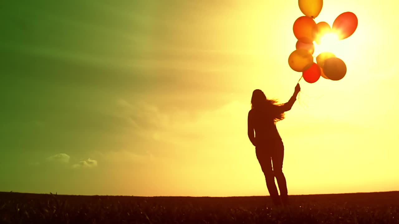 Girl With Balloons Wallpaper How To Be Happy No Matter What Yours News