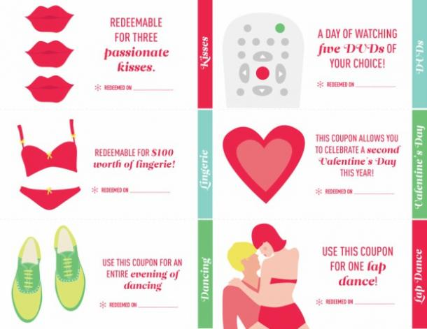 23 Love Coupon Ideas For The Best Cheap Gift For Your Partner