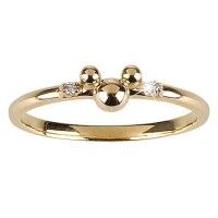Your WDW Store - Disney Ring - 14-Kt. Gold and Diamond ...