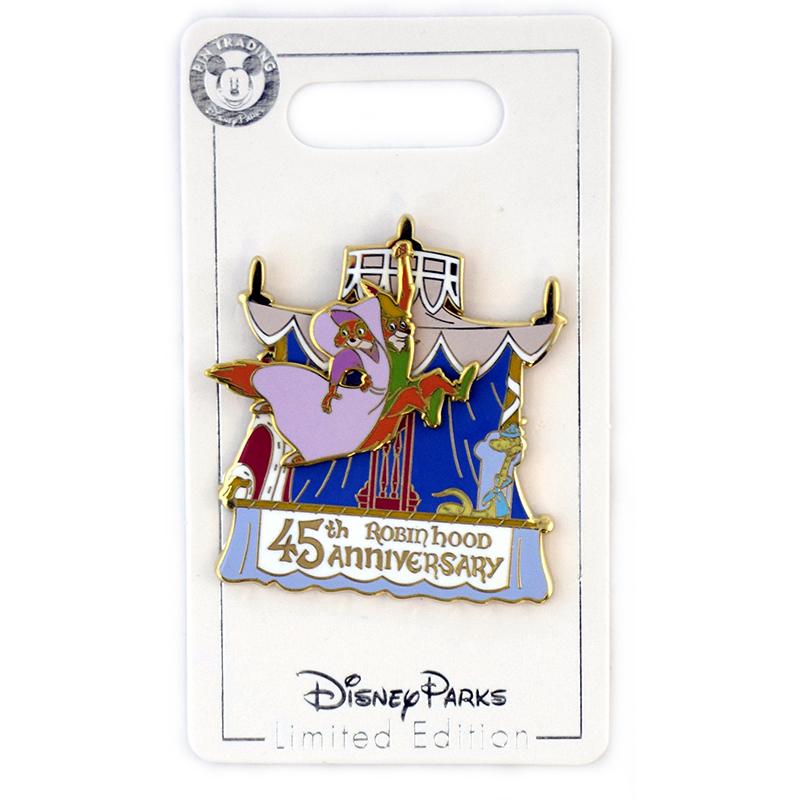Disney Anniversary Pin - Robin Hood 45th Anniversary - Robin and