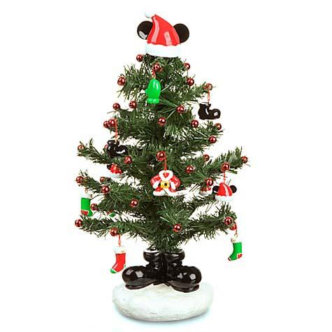 Your WDW Store - Disney Christmas Tree Topper - Santa Mickey Mouse - mini christmas tree decorations