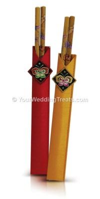 Bamboo Chopsticks Wedding Gift Set | Your Wedding Treats