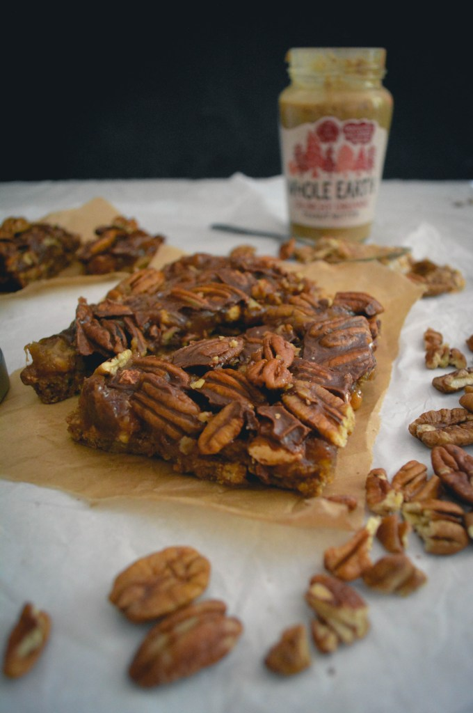 Pecan Caramel Choco Shortbread Bars + It's okay to not be ...