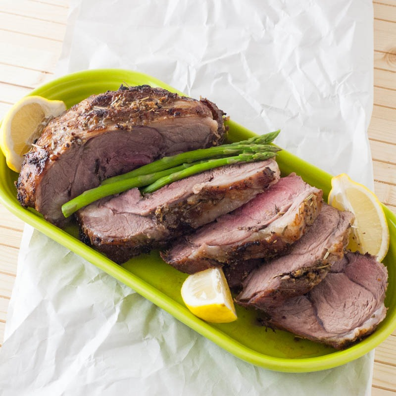 Rosemary & Lemon Leg of Lamb