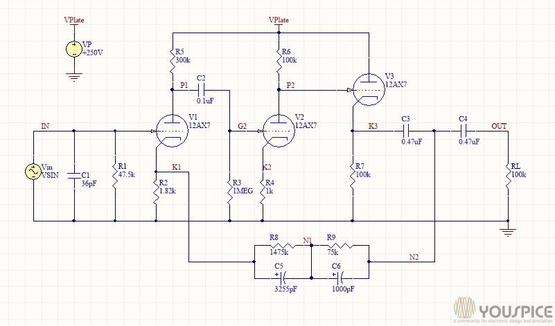 Preamplifier With Riaa Response Curve Circuit Wiring Diagrams