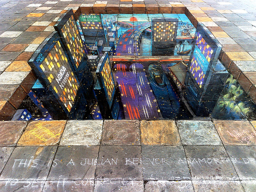 Optical Illusion Wallpaper Hd Sidewalk Picasso Youth Are Awesome