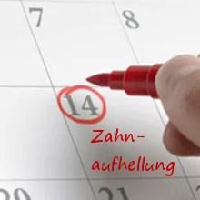 Behandlungsablauf kosmetisches Bleaching, Zahnaufhellung, Hannover