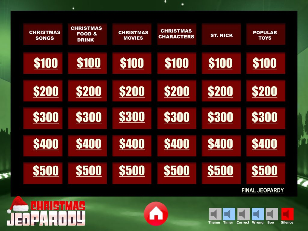 jeopardy ppt template