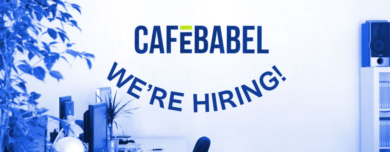 Call for applicants for internship at Cafébabel - European Youth Press - looking for an internship
