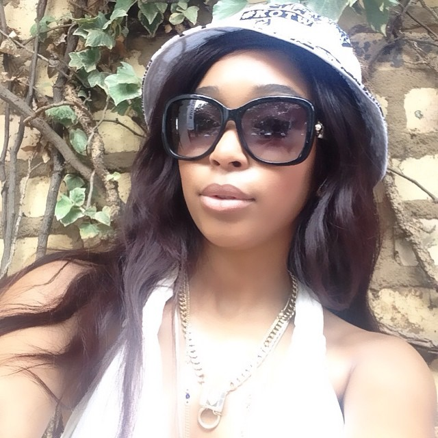 Miss minnie dlamini shows off her bling youth village