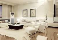 Stylish and fancy living room_Download free vector,3d