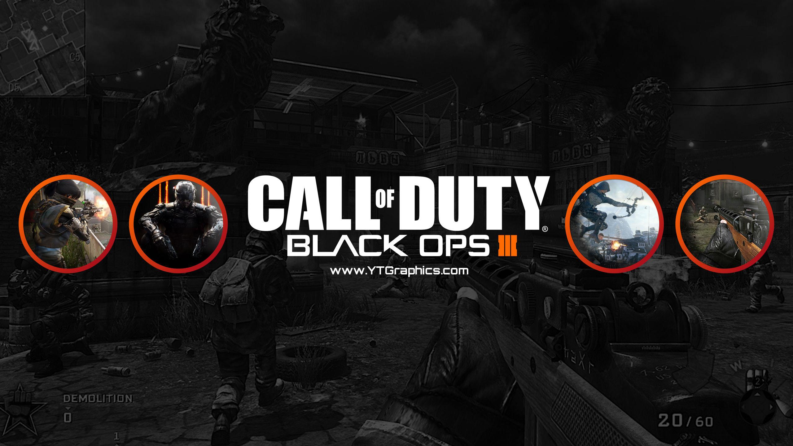 Avatar D Wallpaper Call Of Duty Black Ops Iii Youtube Channel Art Banners