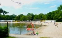 Strandbad Jungfernheide - ein See in Berlin Charlottenburg ...