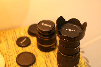 Canon Sigma 18 - 125mm Camera Lens