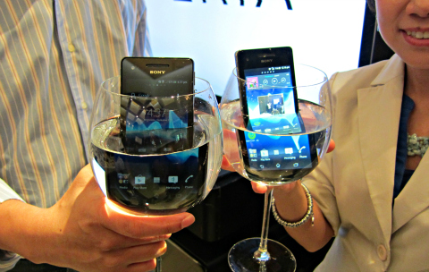 Xperia V_water