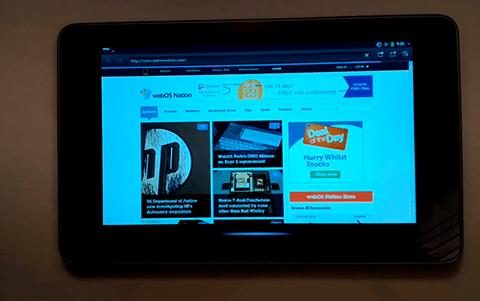 webOS Nexus 7