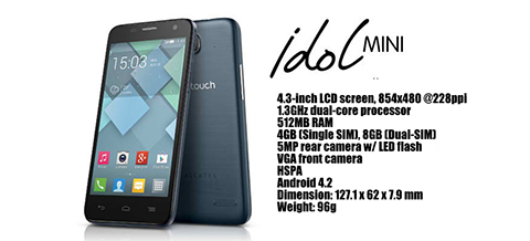 alcatel one touch idol mini