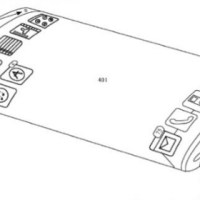 Apple bags patent on curved display, virtual buttons, etc