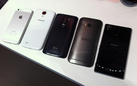 htc one compared