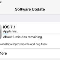 Apple seeds iOS 7.1 update