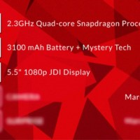 OnePlus One smartphone fits 5.5'' display in 5'' body