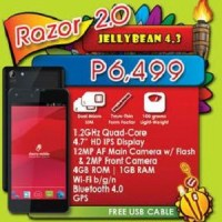 Cherry Mobile Razor 2.0 now official