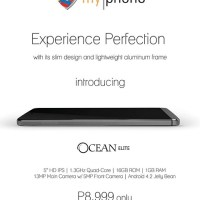 MyPhone Ocean Elite, now available for Php8,999
