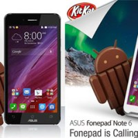 ASUS fonepad Note 6 and Padfone Infinity get KitKat 4.4