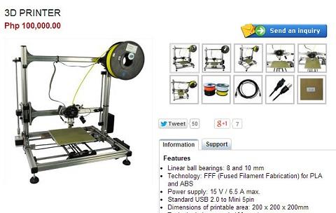 cdrking 3d printer