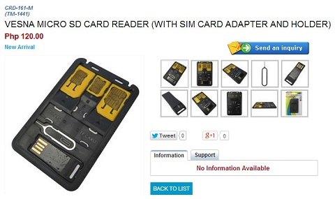 cdrking sim adapter