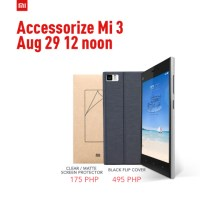 Xiaomi Mi 3 accessories on sale on August 29