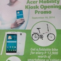Acer opens kiosk in Market! Market!; holds one day opening promo