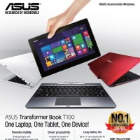ASUS Transformer Book T100 Multi-Color now bundled with 4,200mAh power bank