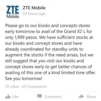 Chaos ensues at ZTE Sale, flooded with complaints
