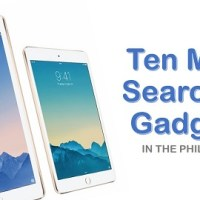 Top 10 Most Searched Gadgets in PH