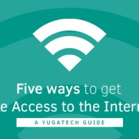 Five ways to Get Free Access to the Internet