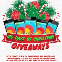 Giveaway: 25 O+ Phones in 25 Days of Christmas