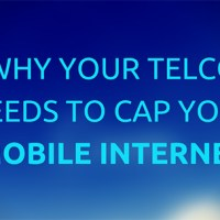 Why Your Telco Needs to Cap Your Mobile Internet