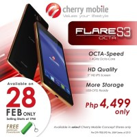 Cherry Mobile Flare S3 Octa: octa-core for under Php5K