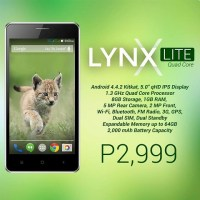 SKK Mobile Lynx Lite gets priced at Php3K