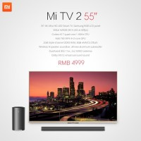 Xiaomi unveils the 55-inch Mi TV2 4K Smart TV