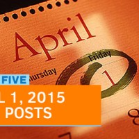 Fast Five: 2015 April Fool's Day Tech Posts