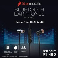 Starmobile intros Bluetooth Earphones with NFC