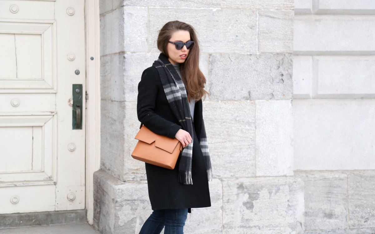 How To Wear a Tailored Wool Coat